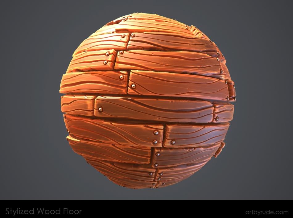 stylized_woodfloor